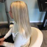 Först Hair Newsha Bondi Bleach Anwendung vorher/nachher 2